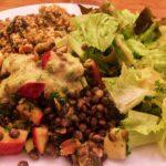 Art du massage : Repas végétarien